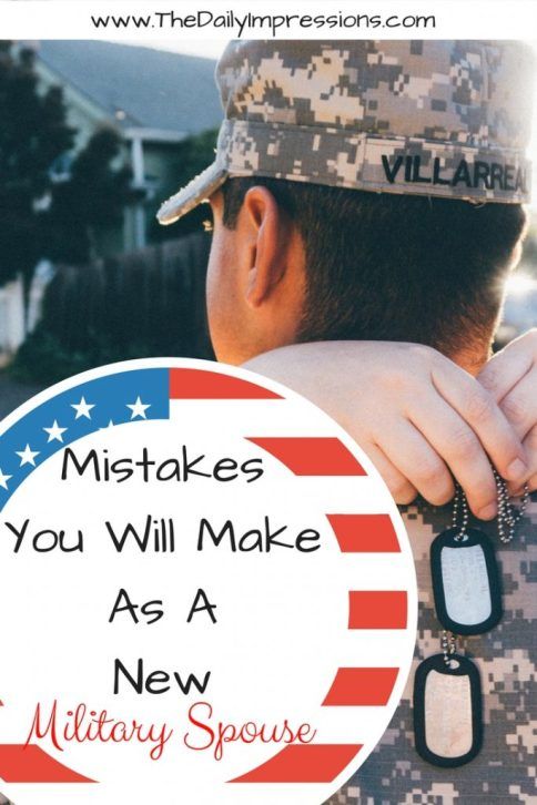 Mistakes you will make as a new military wife