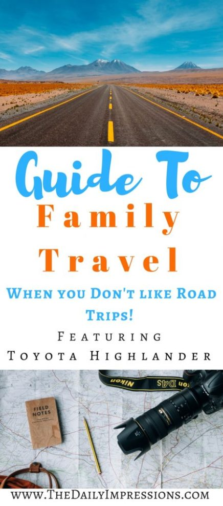 Guide to family travel when you don't like road trips