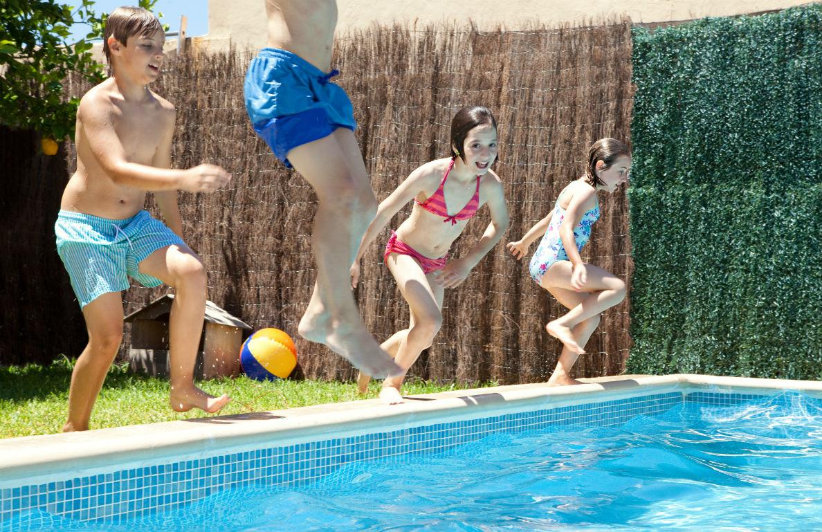 Swimming Pool Fun From Fun Memorial Day Party Games
