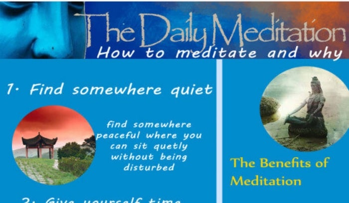 Begin Learning Meditation With This Beautiful Infographic