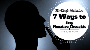 10 Tips For Getting Rid Of Negative Thoughts Forever
