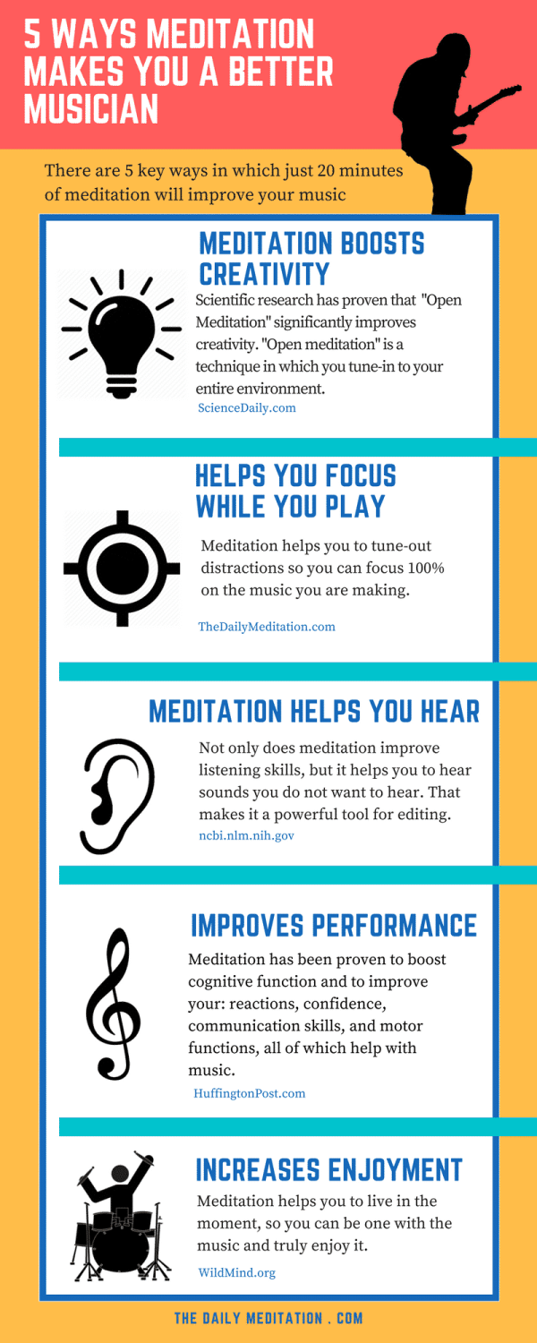 5 Ways Meditation Makes You A BetterMusician