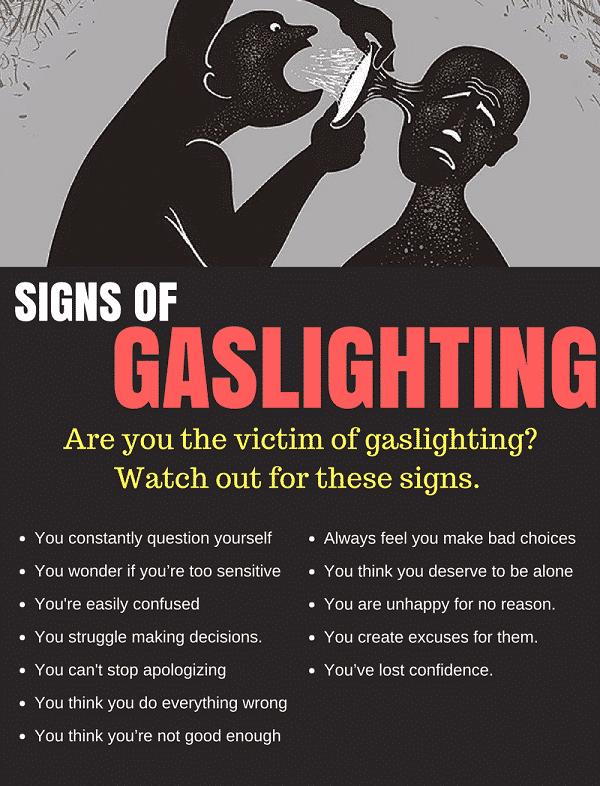gas lighting abuse