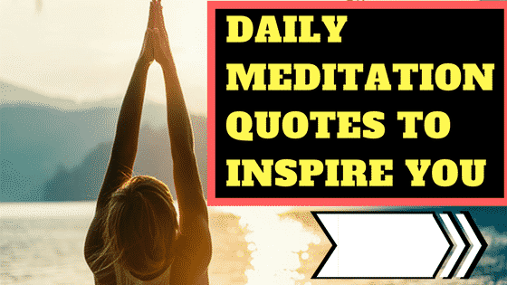 daily meditation quotes