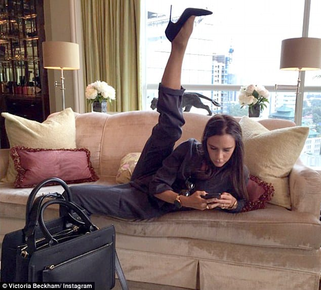 Internet Explodes Over Victoria Beckham's Yoga Pose For Some Unknown Reason