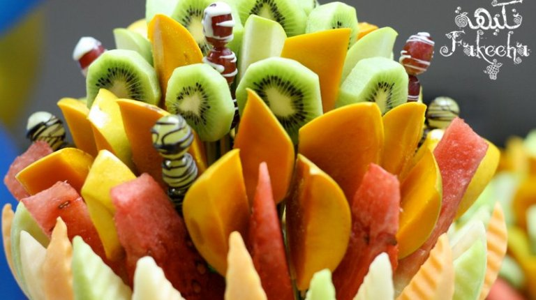 Fakeeha's handcrafted Mango Kiwi Delight. Courtesy of Fakeeha's Facebook page.