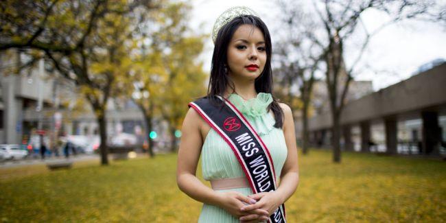 Anastasia Lin Canadian miss world