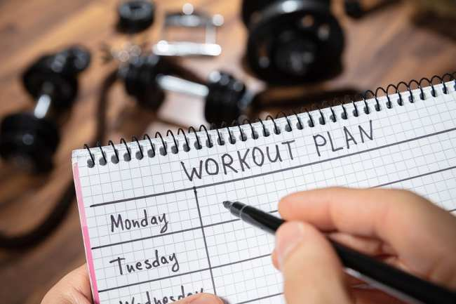 7 Days Workout Plan For Beginners