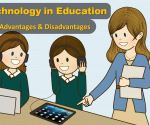 advantages disadvantages using technology in Education