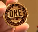 Sixous Falls Mayor Challenge Coin