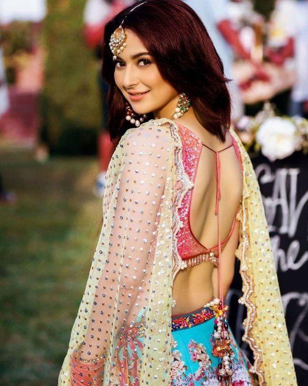 Hania Amir Backless