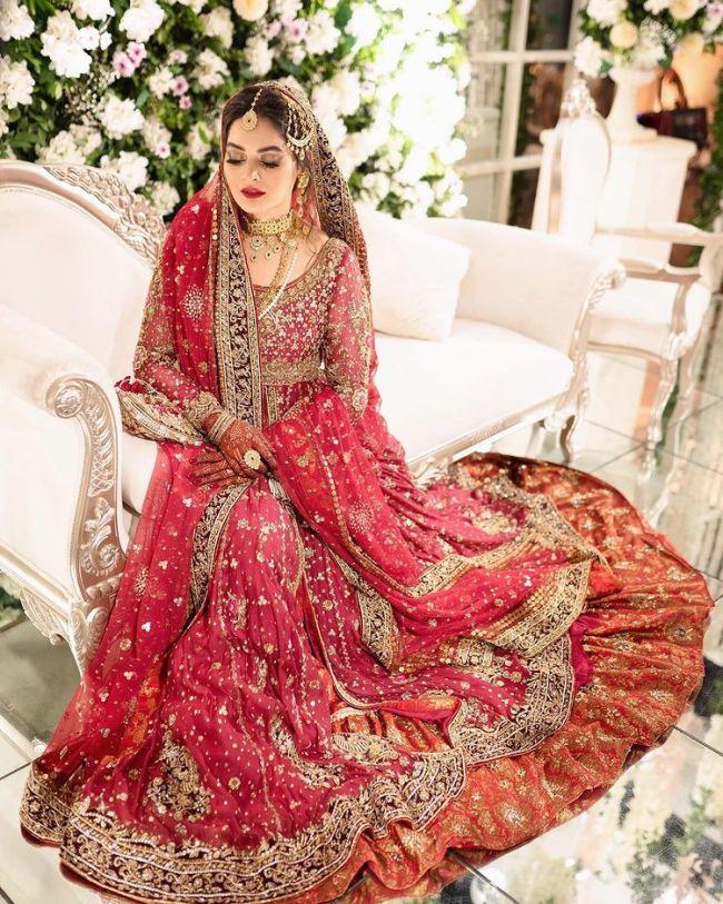 Bridal Photos Minal Khan