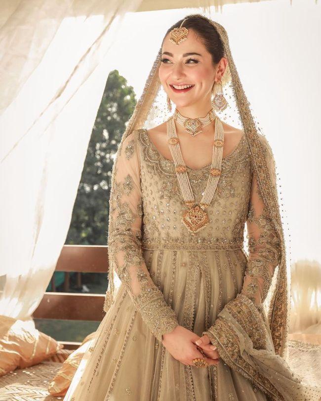 Hania Aamir Bridal Makeup