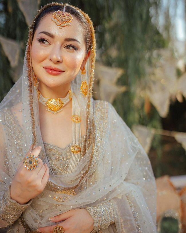 Hania Aamir Bridal Shoot