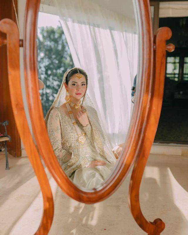 Hania Aamir Bride
