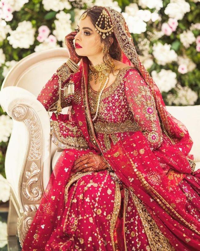 Minal Ahsan Bridal Photoshoot