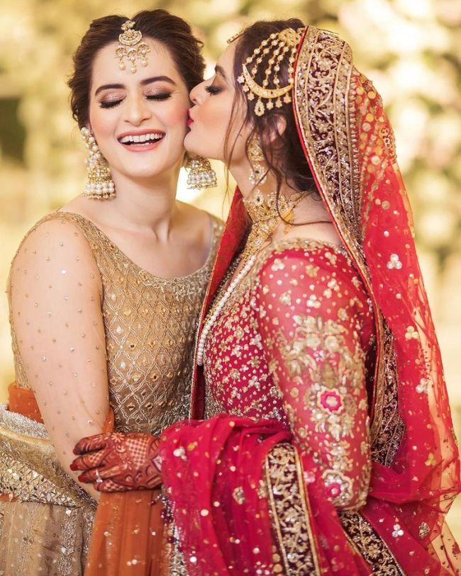 Minal Khan Aiman Khan Wedding Pictures