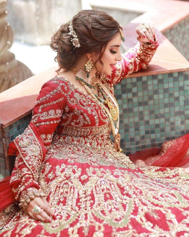 Saboor Aly Bridal Look
