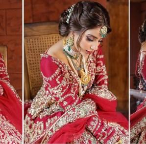 Saboor Aly Pakistani Bridal Photos