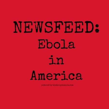 Ebola newsfeed