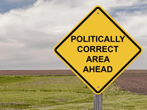 politically correct sign