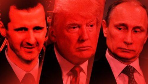 Assad Trump Putin