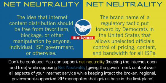 net neutrality comparison