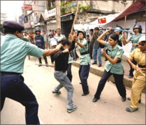 100 injured in hartal clashes