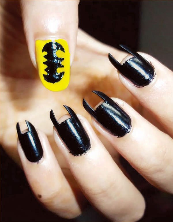 Nowadays Painting Nails Is No Longer Restricted To Just One Solid Colour Colourful Patterns Designs Letters Or Cartoons Are Painted Sted On