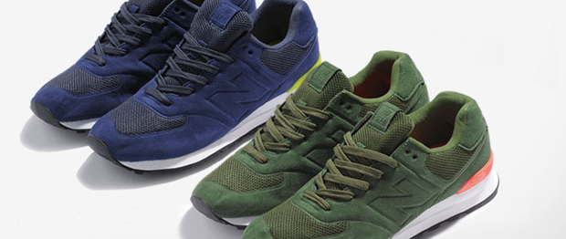 sports shoes 0b9a1 5dfc4 New Balance continue their  Sonic  range from the summer, rolling over into  this A W10 pack that see s the environmentally friendly  Sonic  process  used on ...