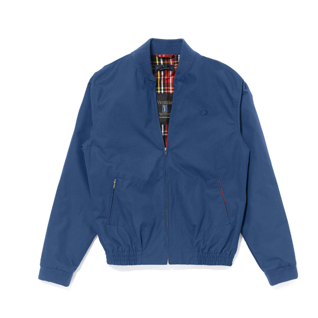 5308206a16cfef Fred perry laurel wreath ventile bomber jacket jpg 620x620 Blue ventile