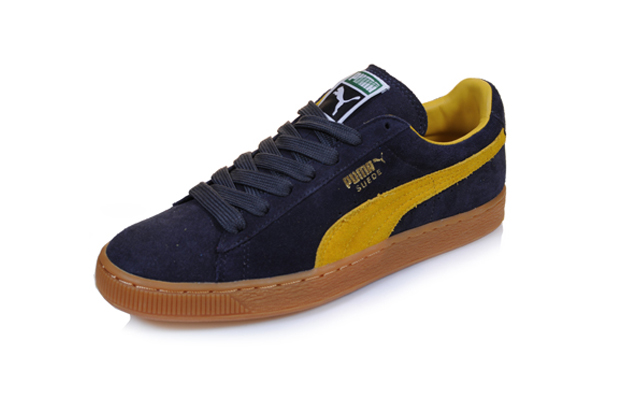 Puma Suede Classic (Navy Mustard Yellow) 571ebbcf9c16