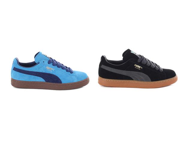outlet store e2512 07097 Puma Suede Classic Eco (Blue   Black)