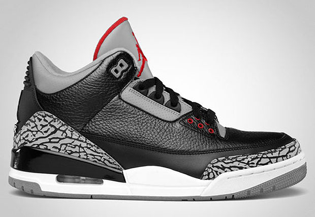 new product 051d2 1b83e Air Jordan III Black/Cement 2011 Retro