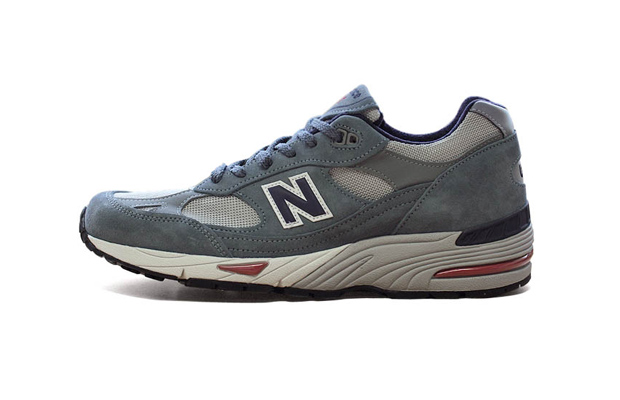 c4caffb8ae New Balance 991 Made In England (Grey/Navy)