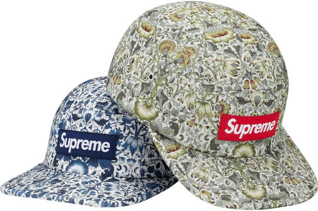 Supreme Liberty Floral Camp Caps