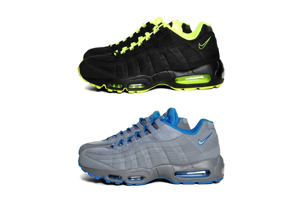 Nike Air Max 95 (BlackVolt & StealthNeptune Blue)
