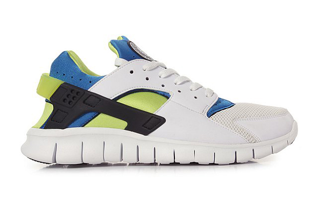 9aeca0242e62c Nike Huarache Free 2012 (White Soar Cyber)
