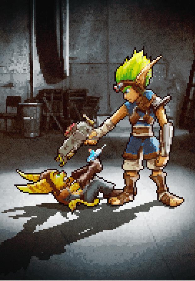 Aled-Lewis-PlayStation-Reservoir-Dogs-Ratchet-and-Jak