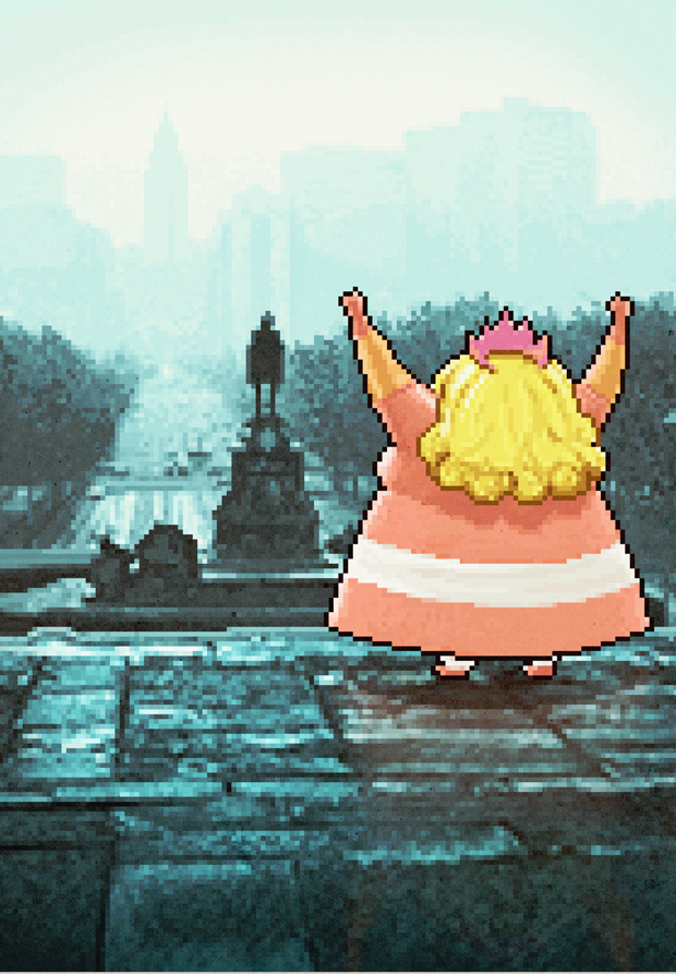 Aled-Lewis-PlayStation-Rocky-Fat-Princess