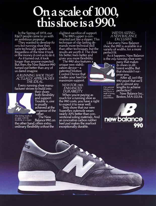 New-Balance-990-Original-Vintage-Advert-Poster-Magazine-01