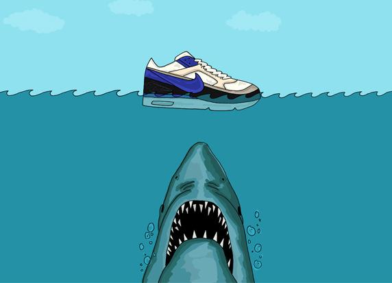 An Illustrated Preview of Nike SS13 Footwear by Josh Parkin for The Chimp Store 04