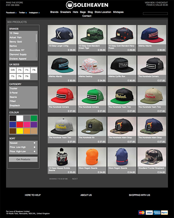 Branded-Snapbacks--Truckers-and-Beanies-Soleheaven-including-10-Deep--Diamond-Supply-and-King-Apparel