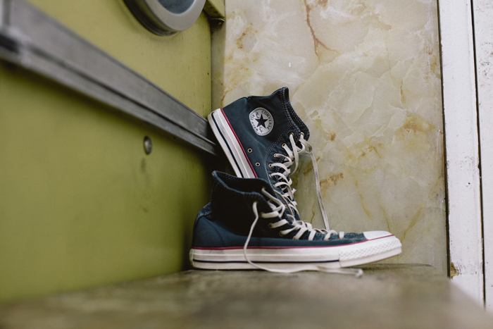 Converse Well Worn Collection black shot by The Daily Street 02