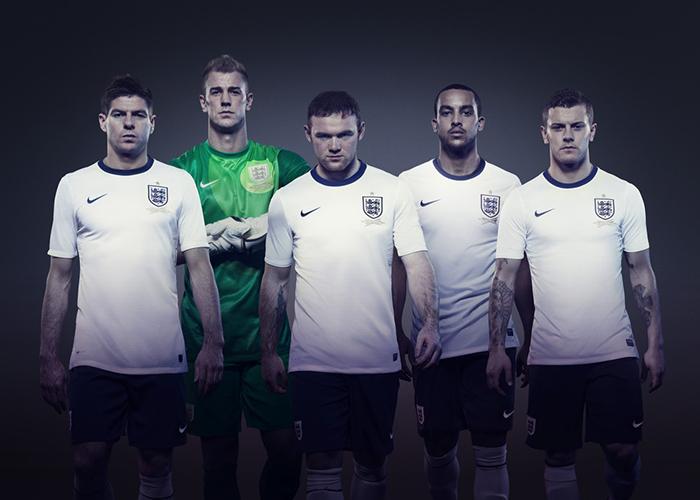 Nike announce first England football kit 01 ... 0fd00ebf5f82