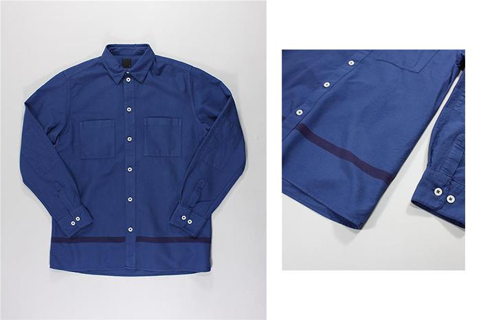 Albam Straight Hem Shirts 04