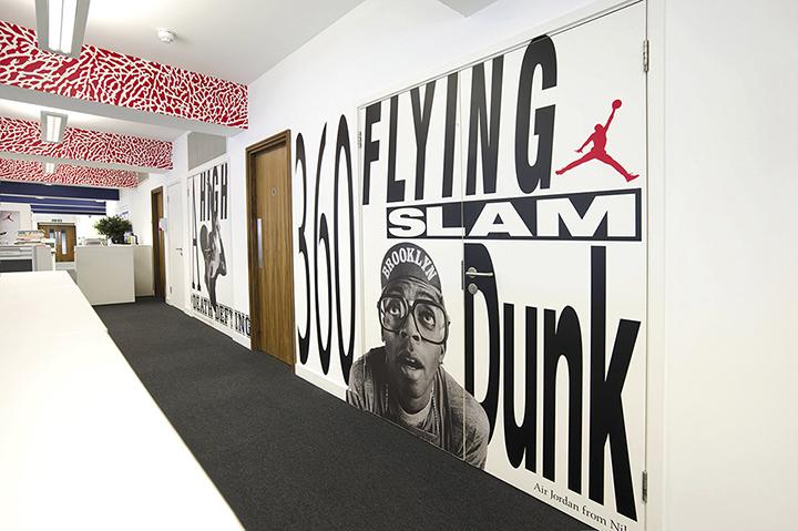 Nike redesigns UK headquarters 10