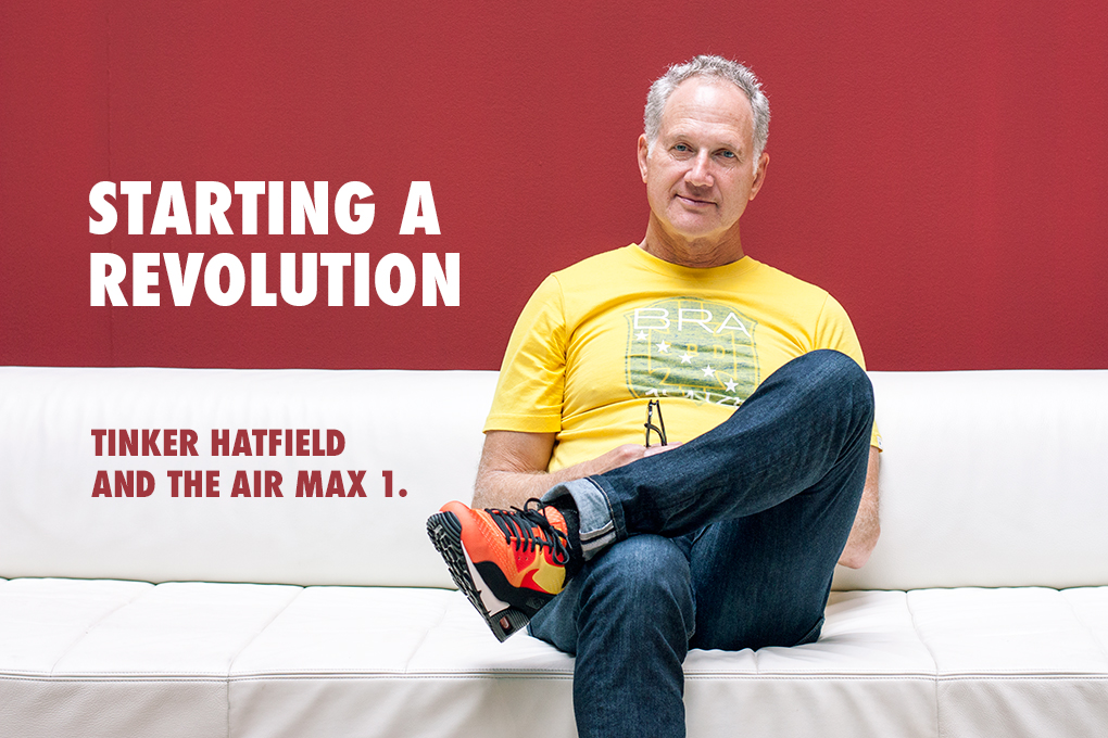 2ecf9bb6b2923f Starting a revolution  Tinker Hatfield and the Air Max 1