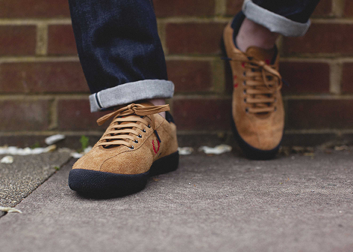 Fred Perry 1934 re-issue footwear collection Bodega