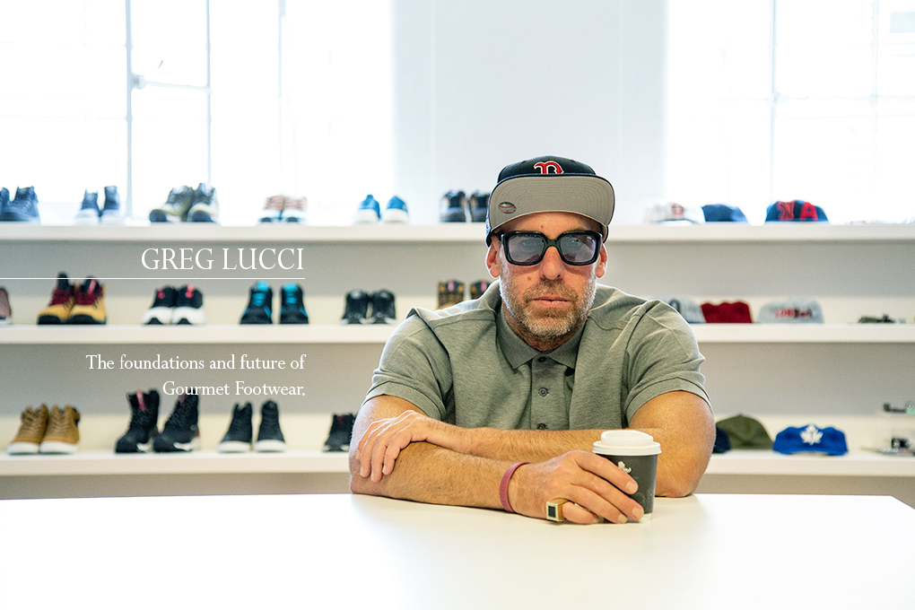 Interview Greg Lucci talks about foundations future Gourmet Footwear The Daily Street 001
